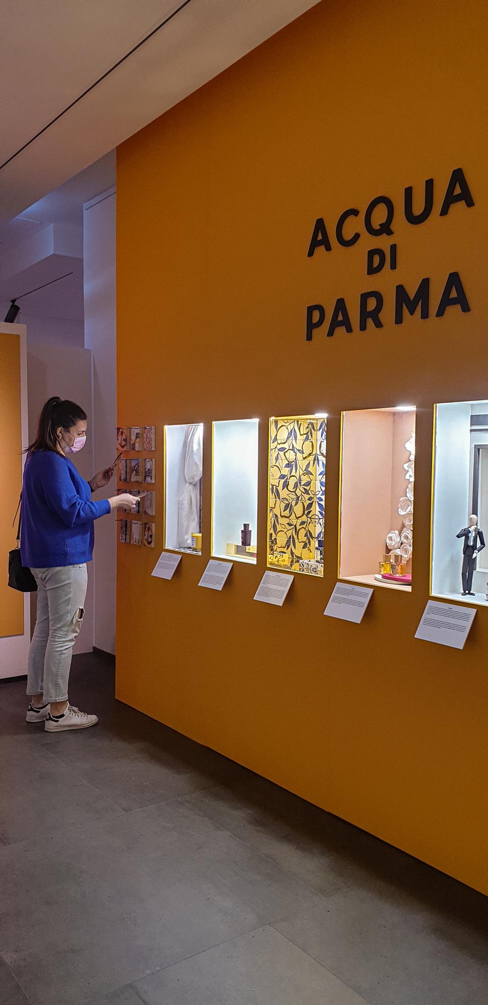 Aura corner Acqua di Parma